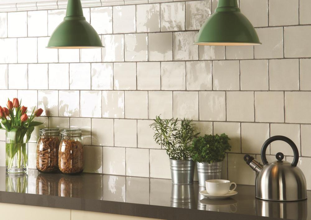 square tile backsplash