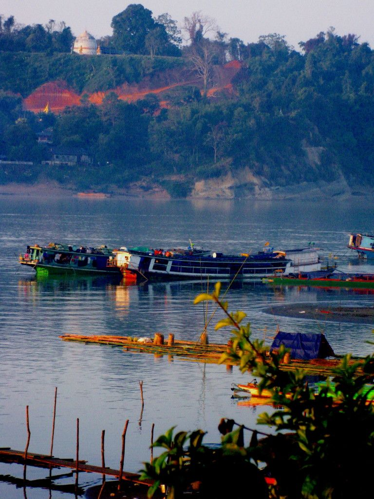 Homalin escape route across Chindwin River to India an