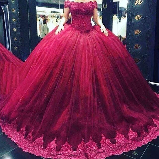 Guinda En 2019 Vestidos De Quinceañera Vestidos De