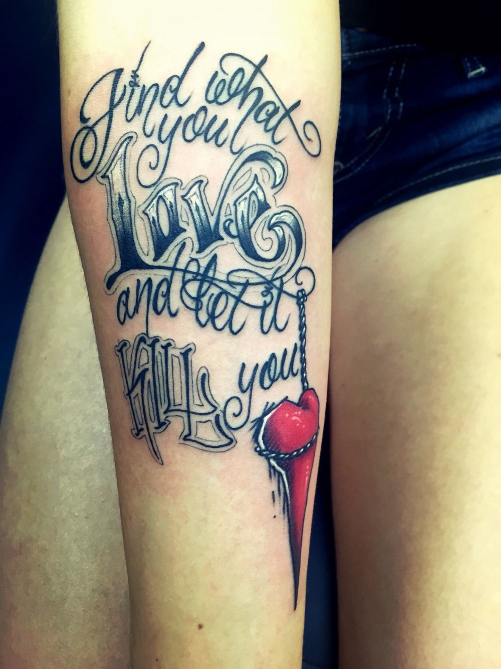 """""""Find what you love and let it kill you."""" Cred Minty Mike"""