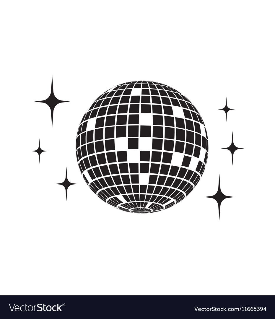 Disco Ball Vector Icon Download A Free Preview Or High Quality Adobe Illustrator Ai Eps Pdf And High Resolution Jpeg Versions Disco Ball Disco Disco Lights
