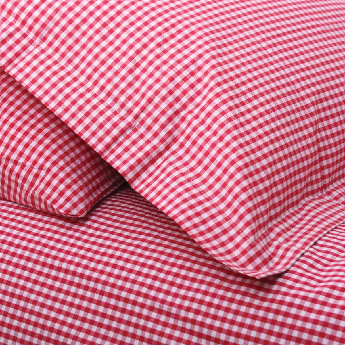 Pin by Mary Mc Namara on Dream houses | Pinterest | Red gingham ... : red gingham quilt - Adamdwight.com