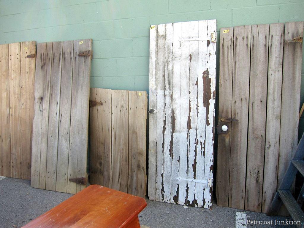 chippy barn wood doors Nashville Flea Market Petticoat Junktion shopping trip & All Aboard For The Nashville Flea Market | Wood doors Barn wood ...