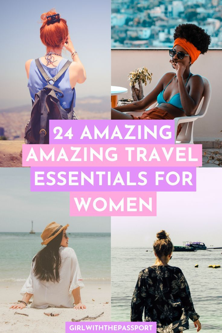 24 Amazing Travel Essentials for Women ( Free, Premium, Printable Packing List inside!)