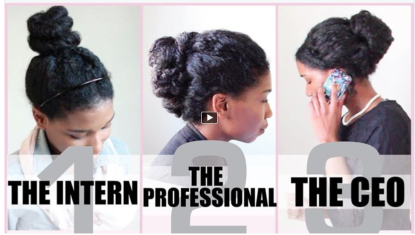3 No Heat Corporate Protective Styles Natural Hair Styles Medium Hair Styles Professional Natural Hairstyles