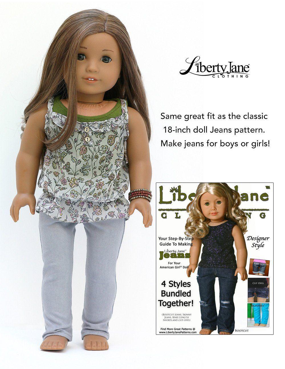 Boy Doll Jeans Bundle 18\