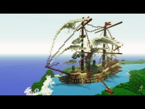 Steampunk Airship Timelapse - The Voxel Box  A modern day, Minecraft