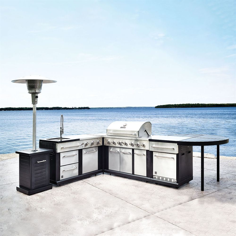 5-Piece Modular Outdoor Kitchen Set (With images ...