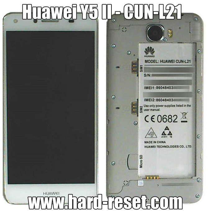 Huawei Y5 II hard reset | hard reset | Phone, Forgot