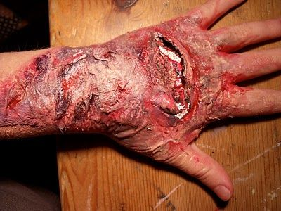 halloween ideas very realistic fake wound - Halloween Fake Wounds