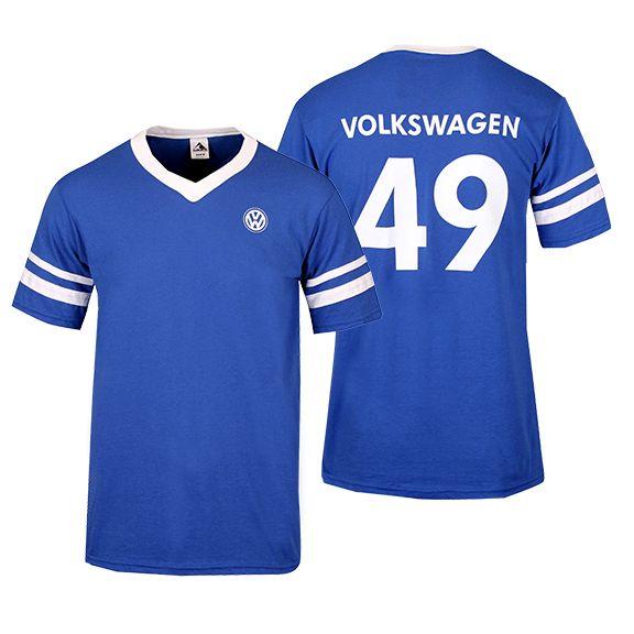 football jersey t shirt volkswagen gear pinterest