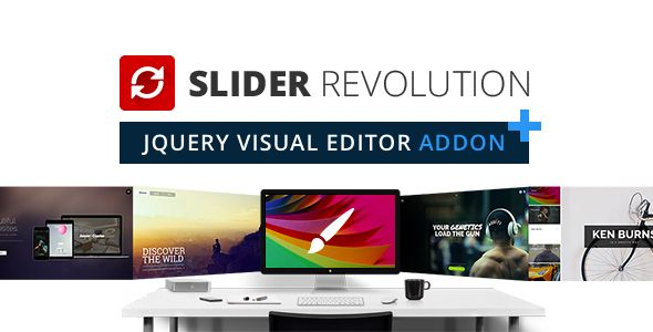 Slider Revolution Jquery Visual Editor Addon Codecanyon