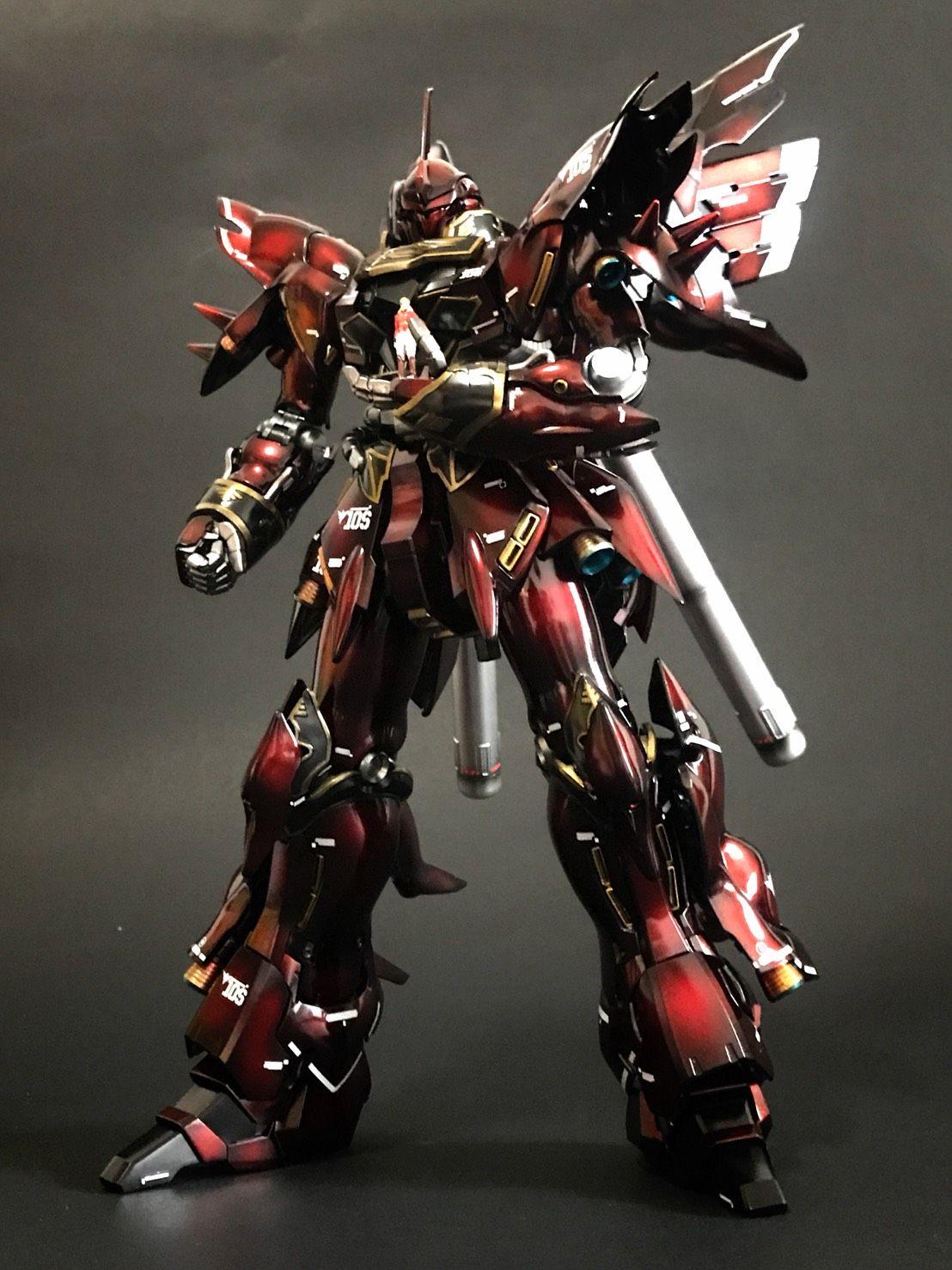 Pin by Big Bear on MG Sinanju 新安洲 Samurai gear, Sci fi