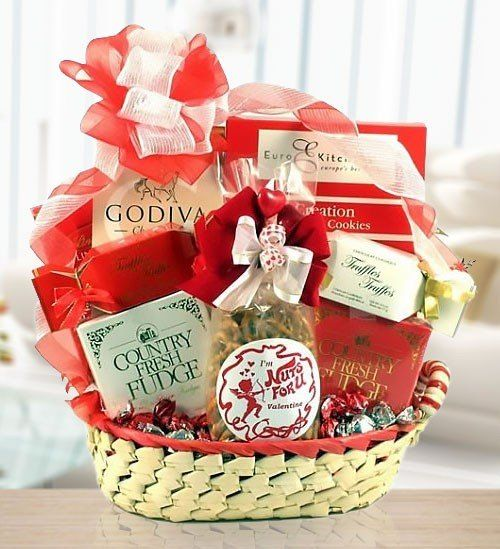 66908ab25a Sweet Valentine's Romantic Gift Basket | Valentine's Day Gift ...