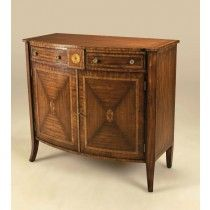 Aged Regency Finished Veneered Chiffonier