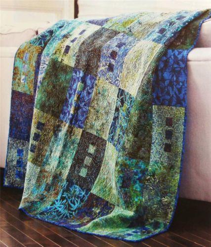 Zen Quilt Pattern From Magazine Beginner Multiple Sizes