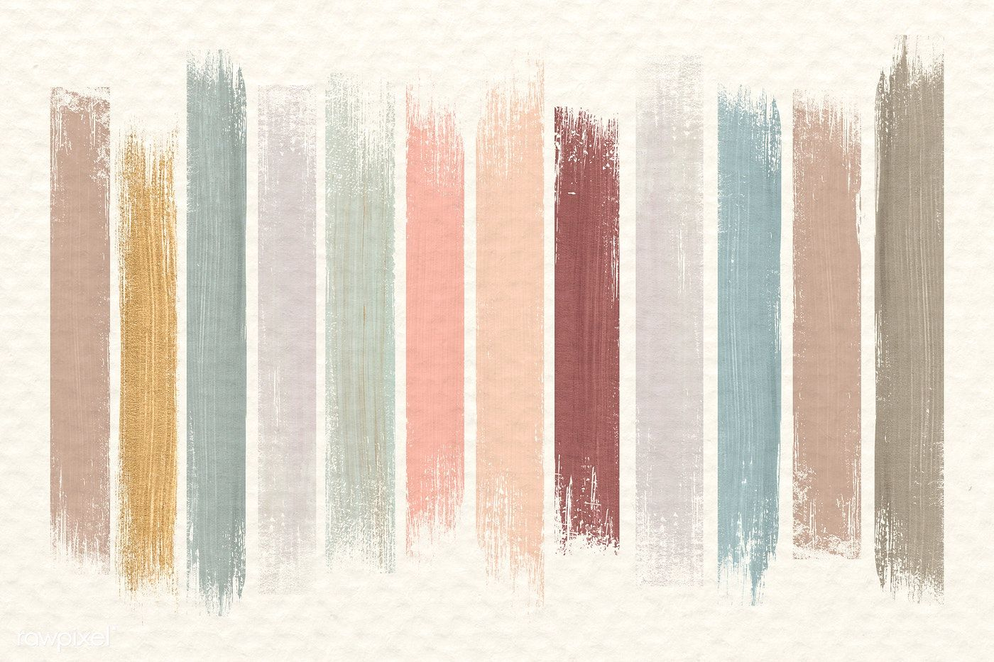 Brush strokes neutral collection vector free image by