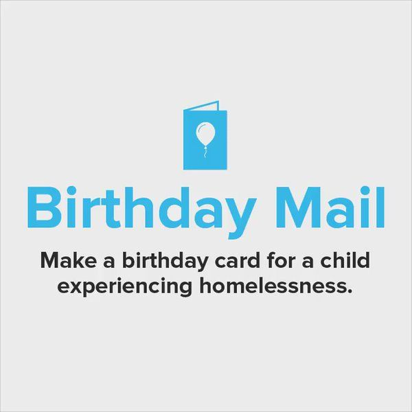 "DoSomething.org on Twitter: ""Make birthday cards with us and @JNJCares for children experiencing homelessness! https://t.co/oXfEPdQZdh https://t.co/nKjgPLHiX5"""
