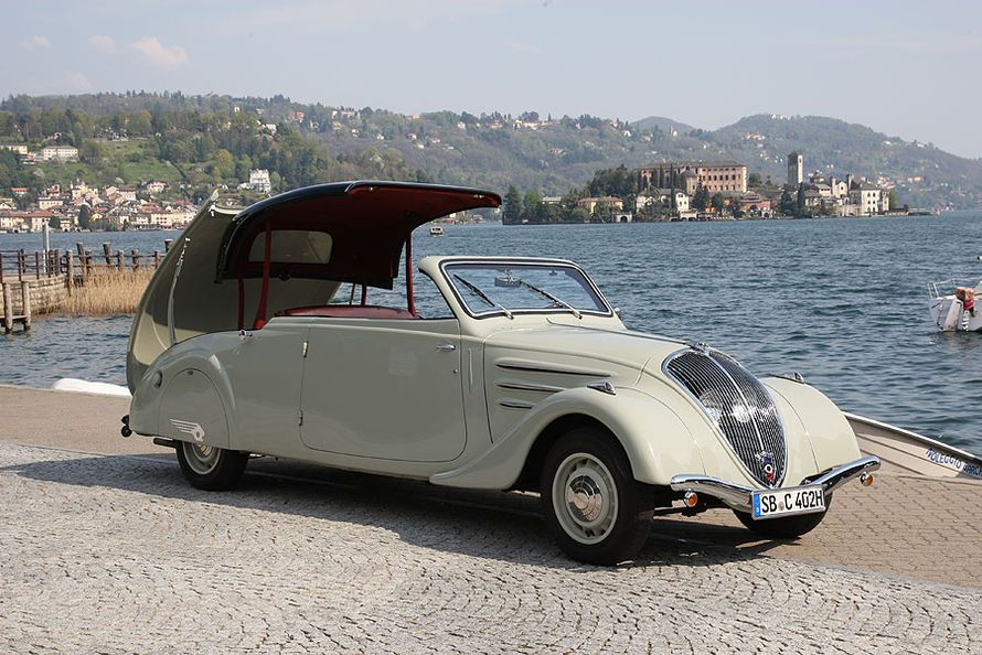 1934 Peugeot 402 Eclipse Maintenance/restoration of old/vintage ...