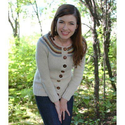 Check out Never Not Knitting Playful Stripes Cardigan (Adult) $6 PDF at WEBS | Yarn.com.