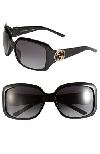 d9fdab1078cb46 Gucci Square Frame Sunglasses. I finally broke down and invested in a good  pair of sunglasses. L o v e.