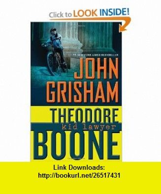 Theodore Boone Kid Lawyer Pdf