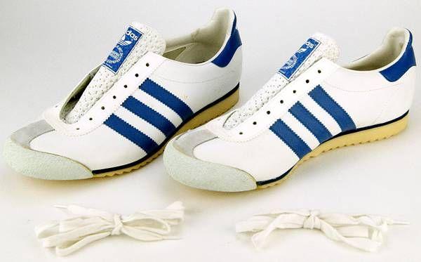 adidas schuhe 80er blau