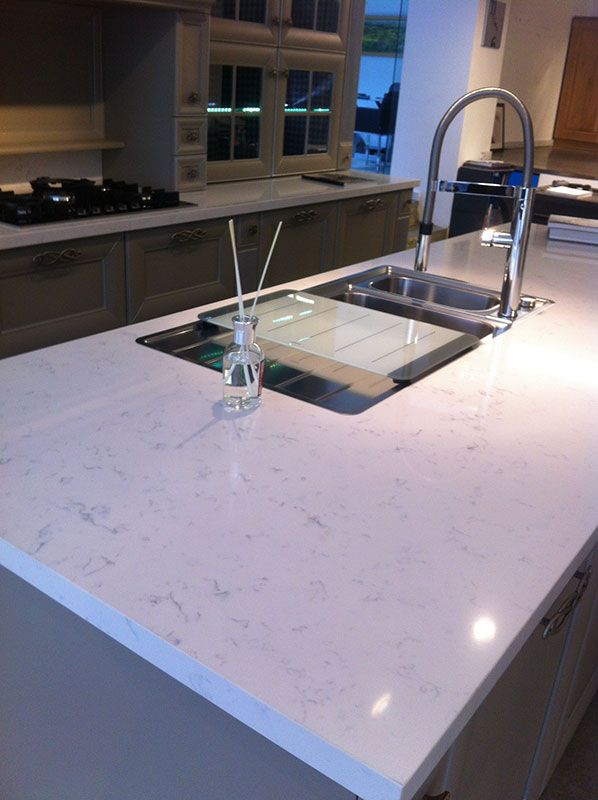 Cashmere Carrara Quartz Room Scene Ideas For The House