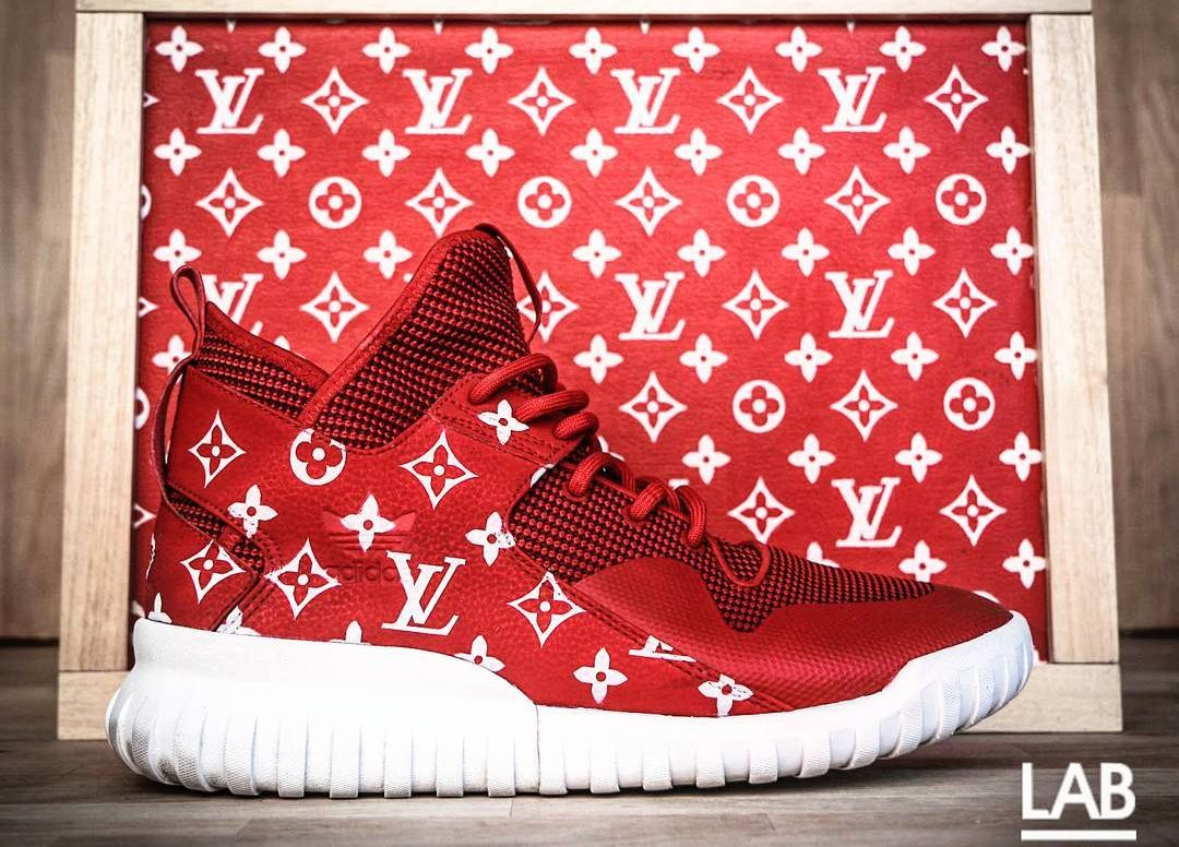5383f26d990 Supreme x Louis Vuitton x Adidas Tubular X - @adifans_taiwan | Shoes ...