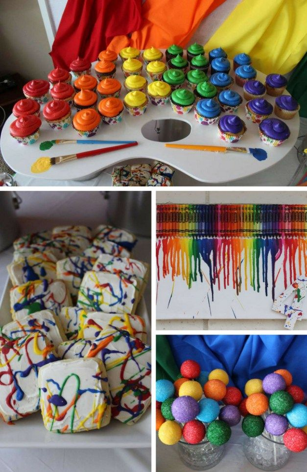 Art Party Collection - Birthday Party Ideas & Themes