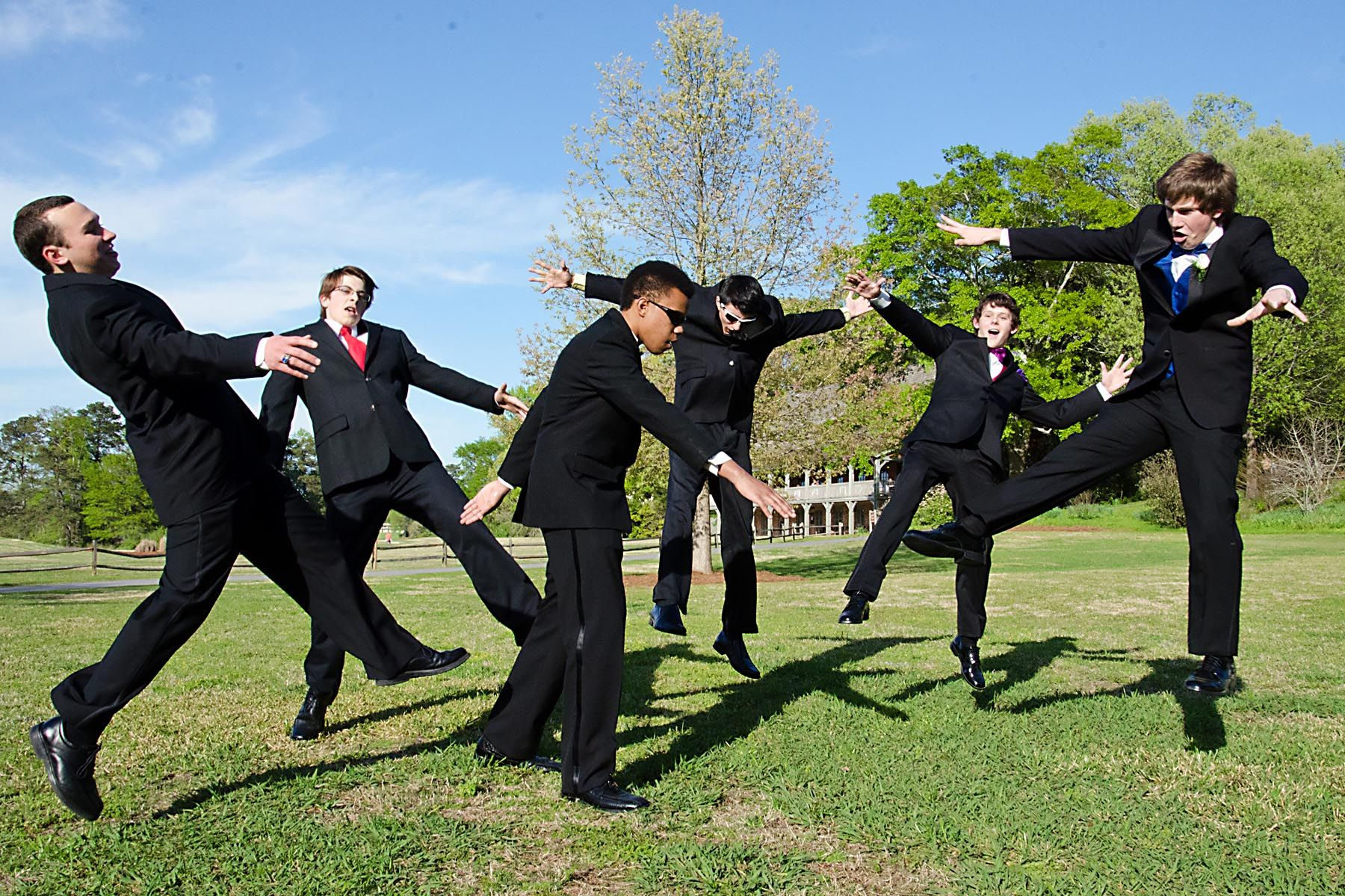 Naruto eight trigrams palm rotation prom picture prom for Group pics ideas