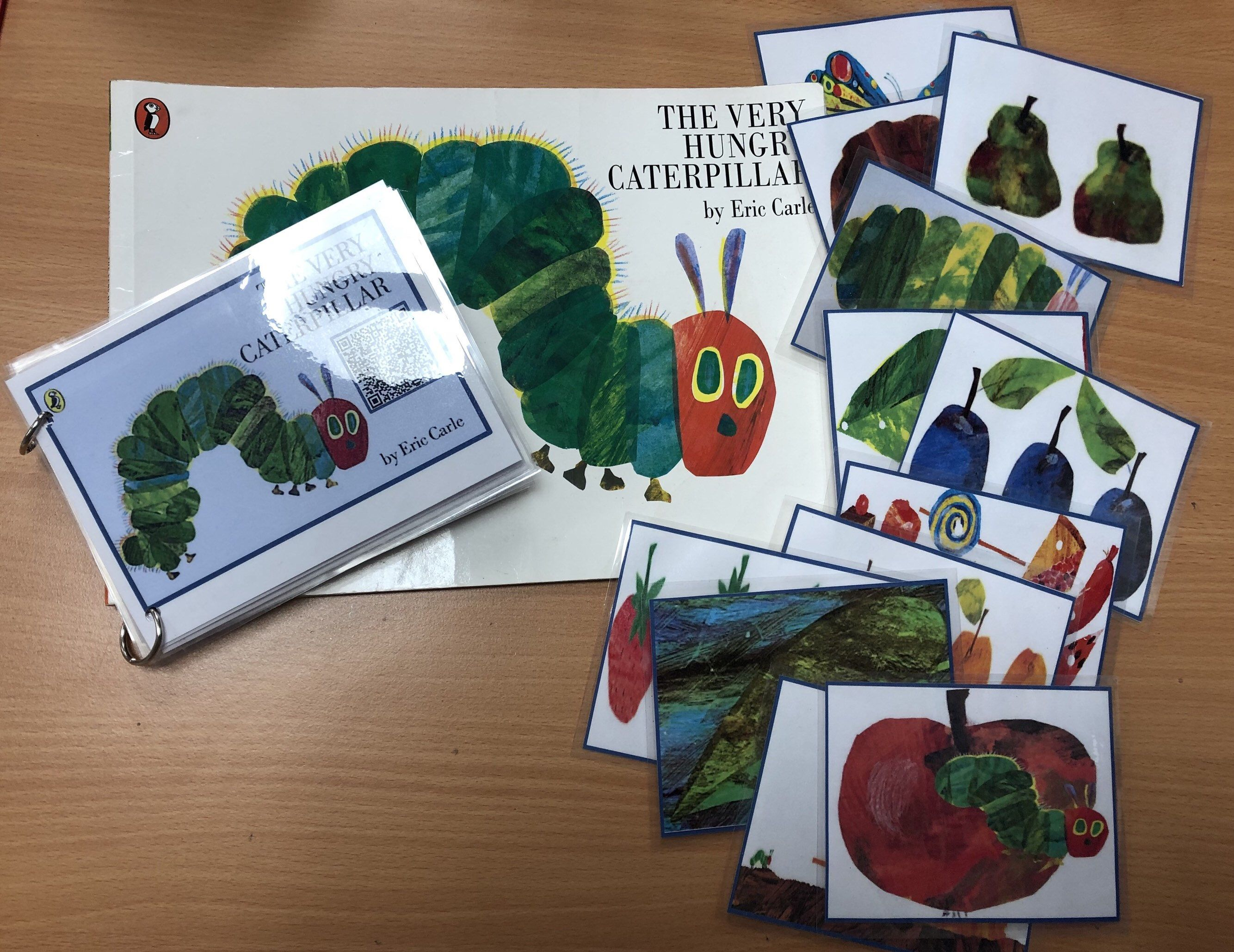 The Very Hungry Caterpillar Sequencing Book