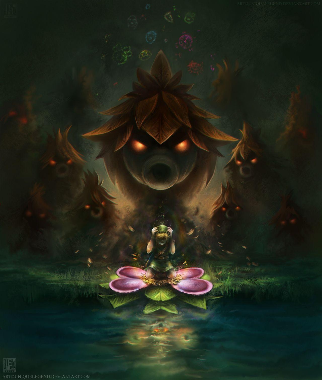 Majora's Mask: The Transformation by =uniqueLegend on deviantART | The Legend of #Zelda