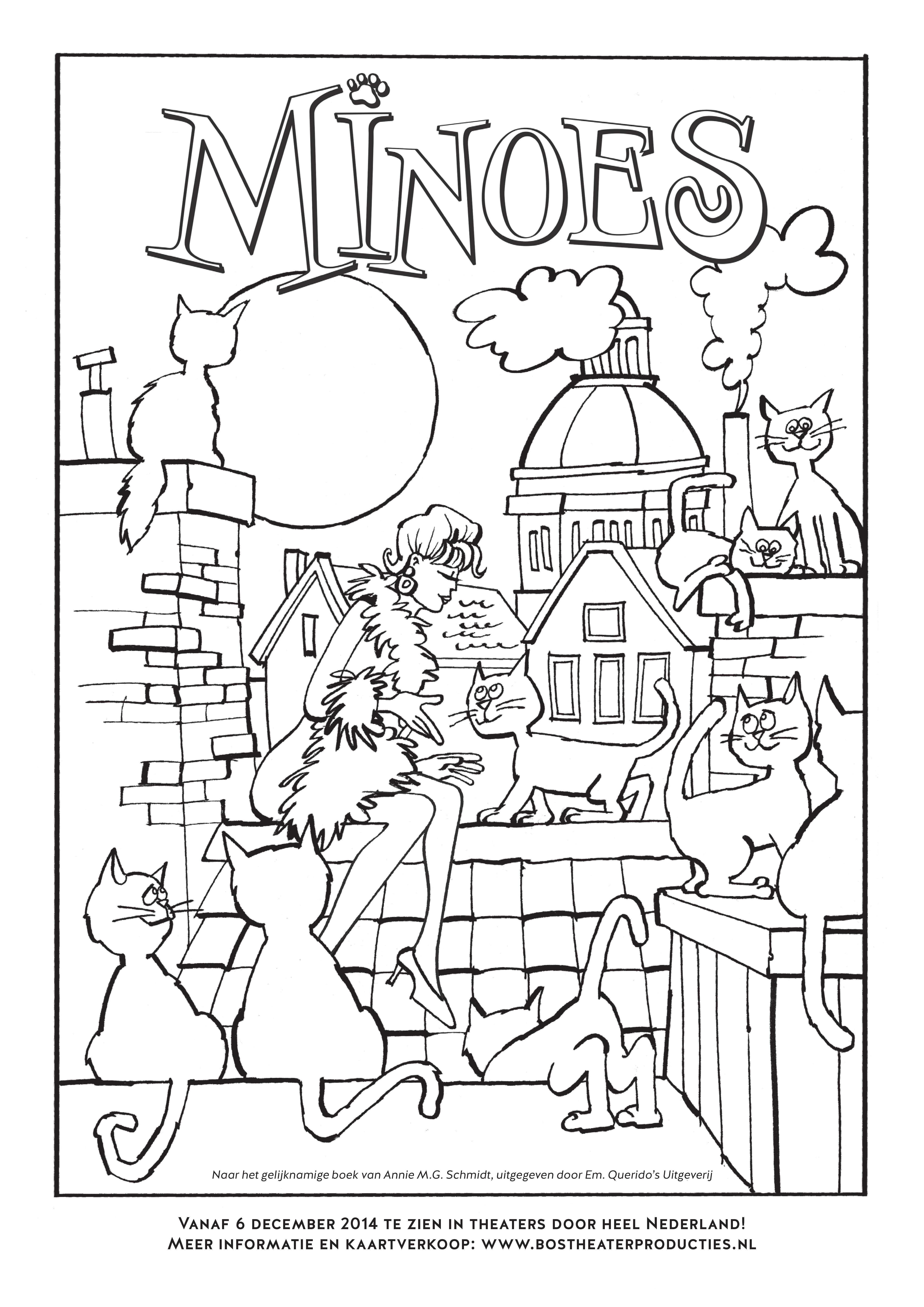 Minoes Annie Mg Schmidt Schmidt Kinderboeken Knutselen Op School