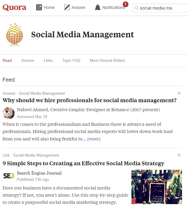 If You Haven T Looked At Quora Recently It Might Be Time To Revisit How It Can Add Value To Your Marke In 2020 Social Media Digital Marketing Strategy Social Branding