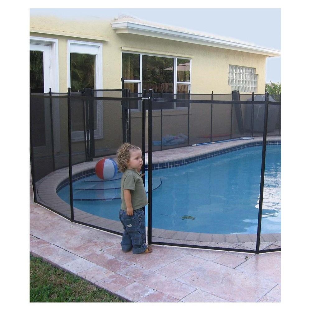 Waterwarden Pool Safety Fence 4 X 12 Black Pool Safety Fence Swimming Pool Safety Pool Safety