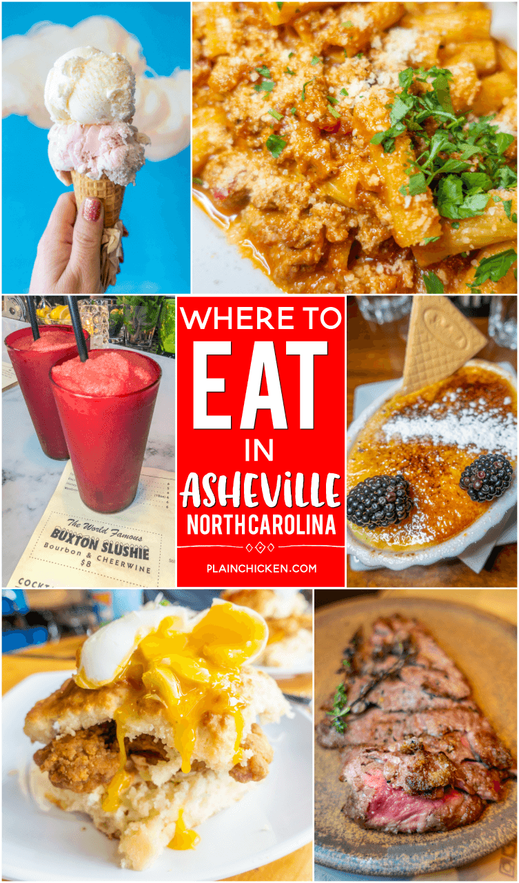 Where To Eat In Asheville Nc Bbq Ice Cream Italian Beer Champagne Spanish Tapas And Breakfast We Checked Out The Top Rated Places On Tripadvisor
