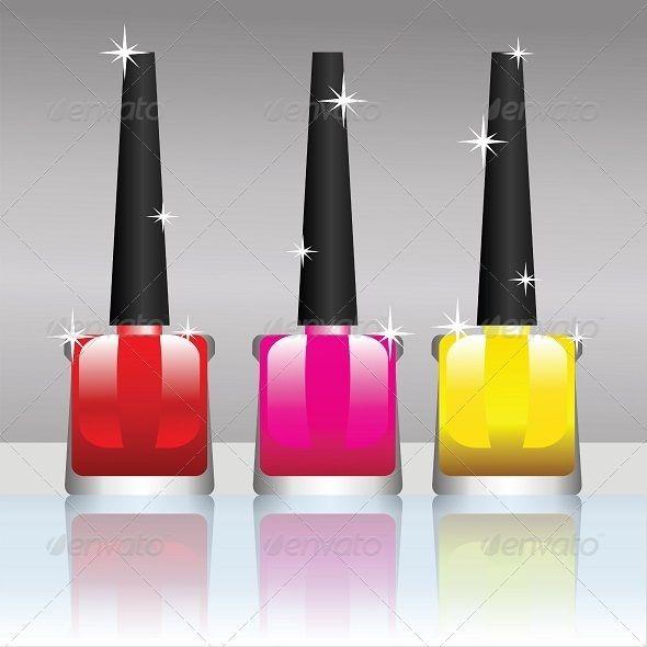 Nail polish bottle | Bottle, Icon illustrations and Font logo