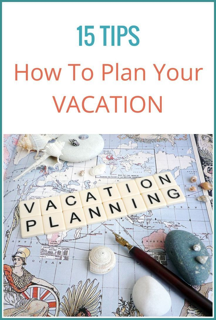Travel planning can be overwhelming. Use these 15 steps to plan your trip and take the stress out of booking your next vacation.