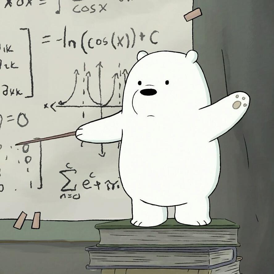 Would You Let Ice Bear Be Your Teacher Icebear Teacher
