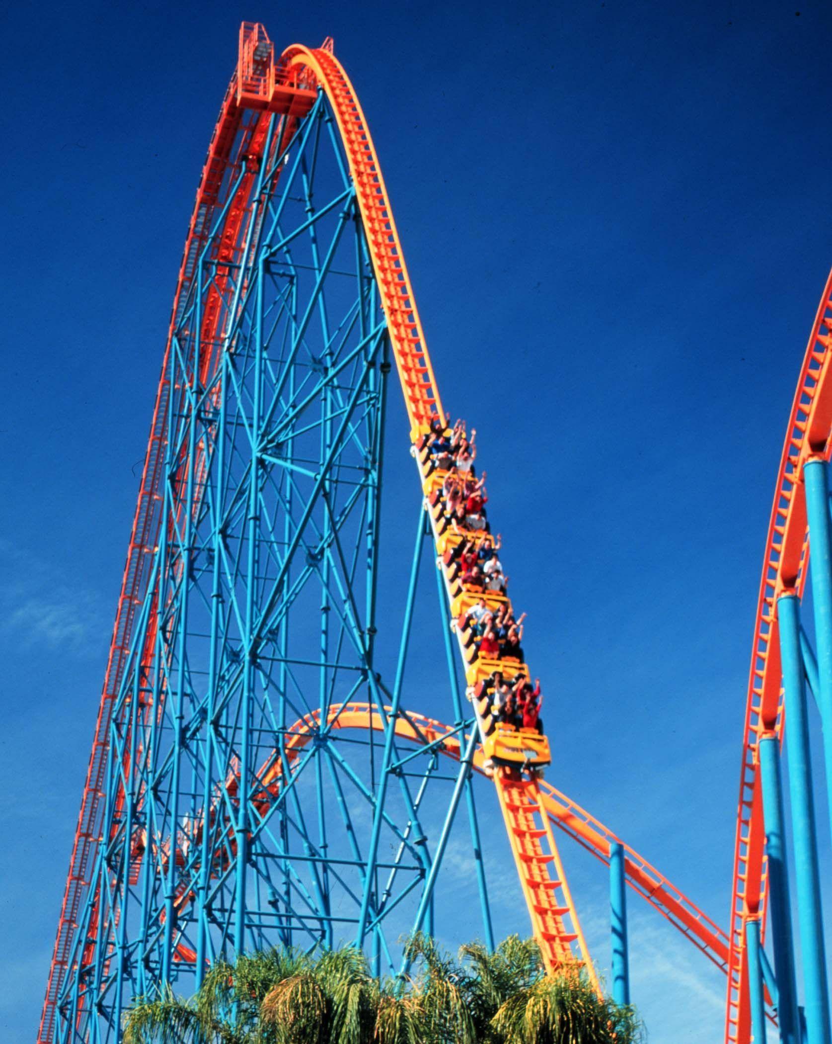 Six Flags Magic Mountain In Valencia California Best Amusement Parks Park Pictures Amusement Park Rides