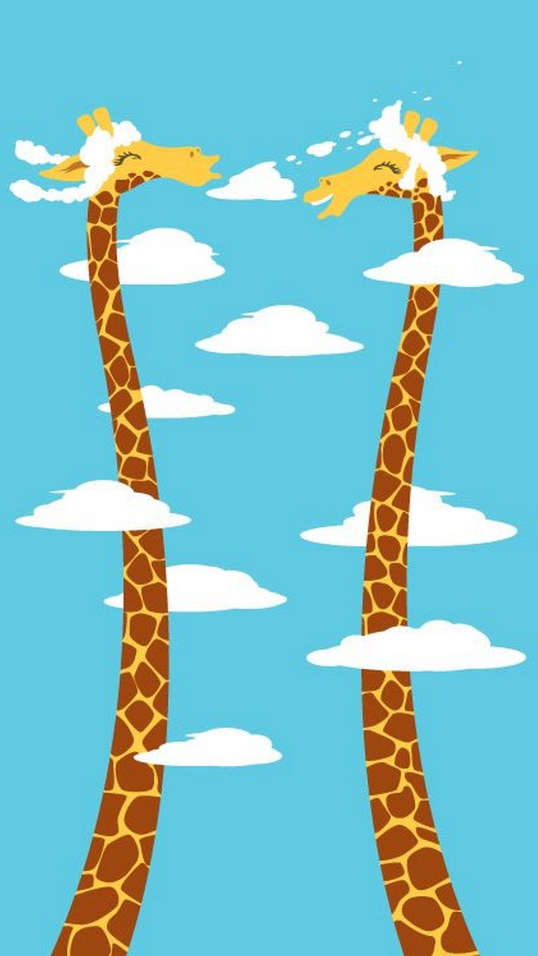 Cute Giraffe HD Wallpaper