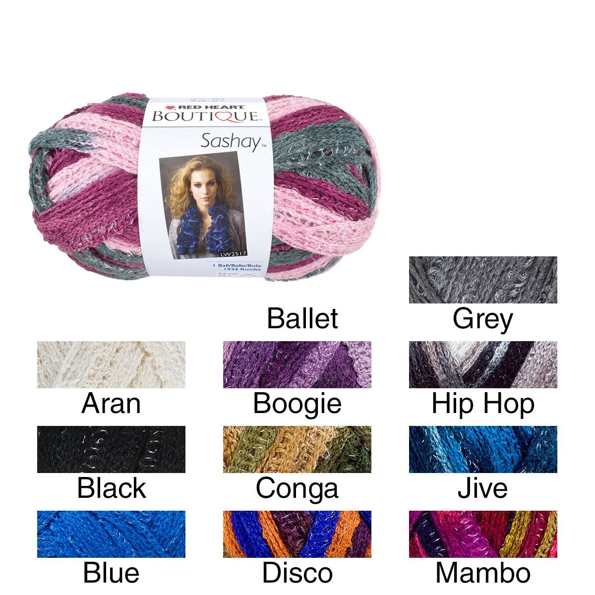 Red Heart Boutique Sashay Yarn | Products | Pinterest
