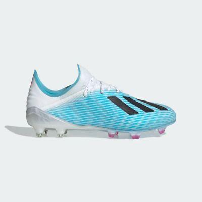 Ebay Sponsored Adidas Men S X 19 1 Firm Ground Fg Soccer Cleats Bright Cyan Black Pink F35316 Pink Soccer Cleats Soccer Shoes Soccer Boots