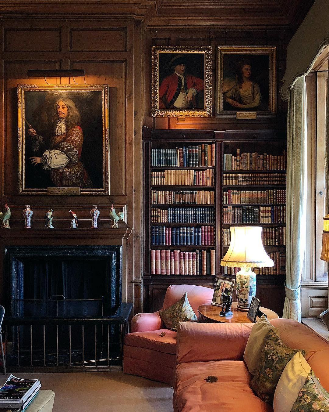fireside fridaynight interiors panelling paintings library rh pinterest com