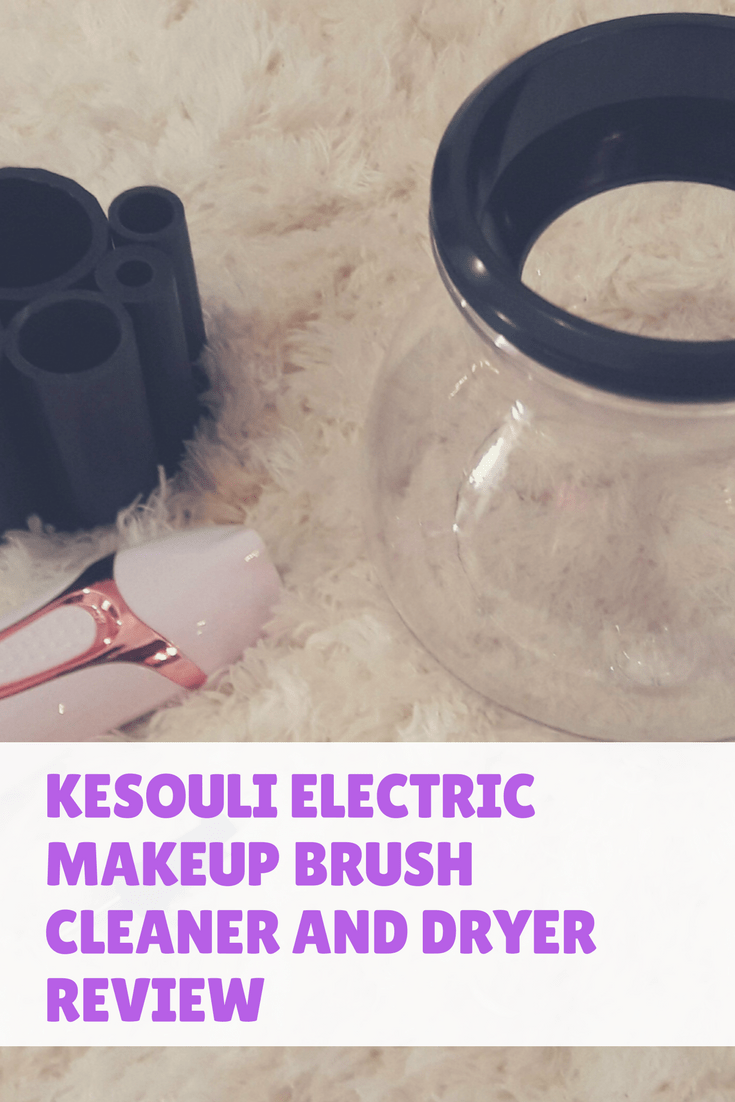Kesouli Electric Makeup Brush Cleaner and Dryer Review