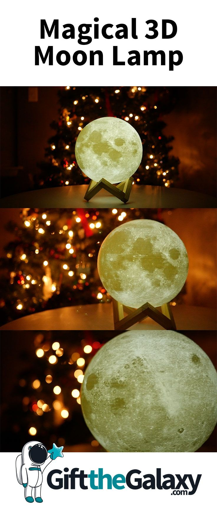 Enchanting 3d Moon Light Giftthegalaxy Com The Best Gifts In The Galaxy Astronomy Gift Astronomy Decor Astronomy Crafts