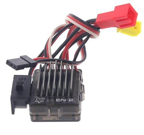 HPI 1/18 Micro RS4 EN-2 ELECTRONIC SPEED CONTROL ESC Heat Sink motor plate by HPI Racing