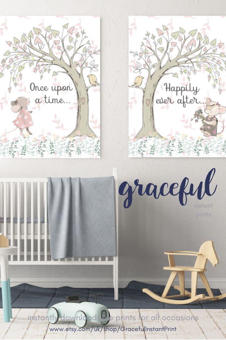 Fairy Tale Nursery Art Decor