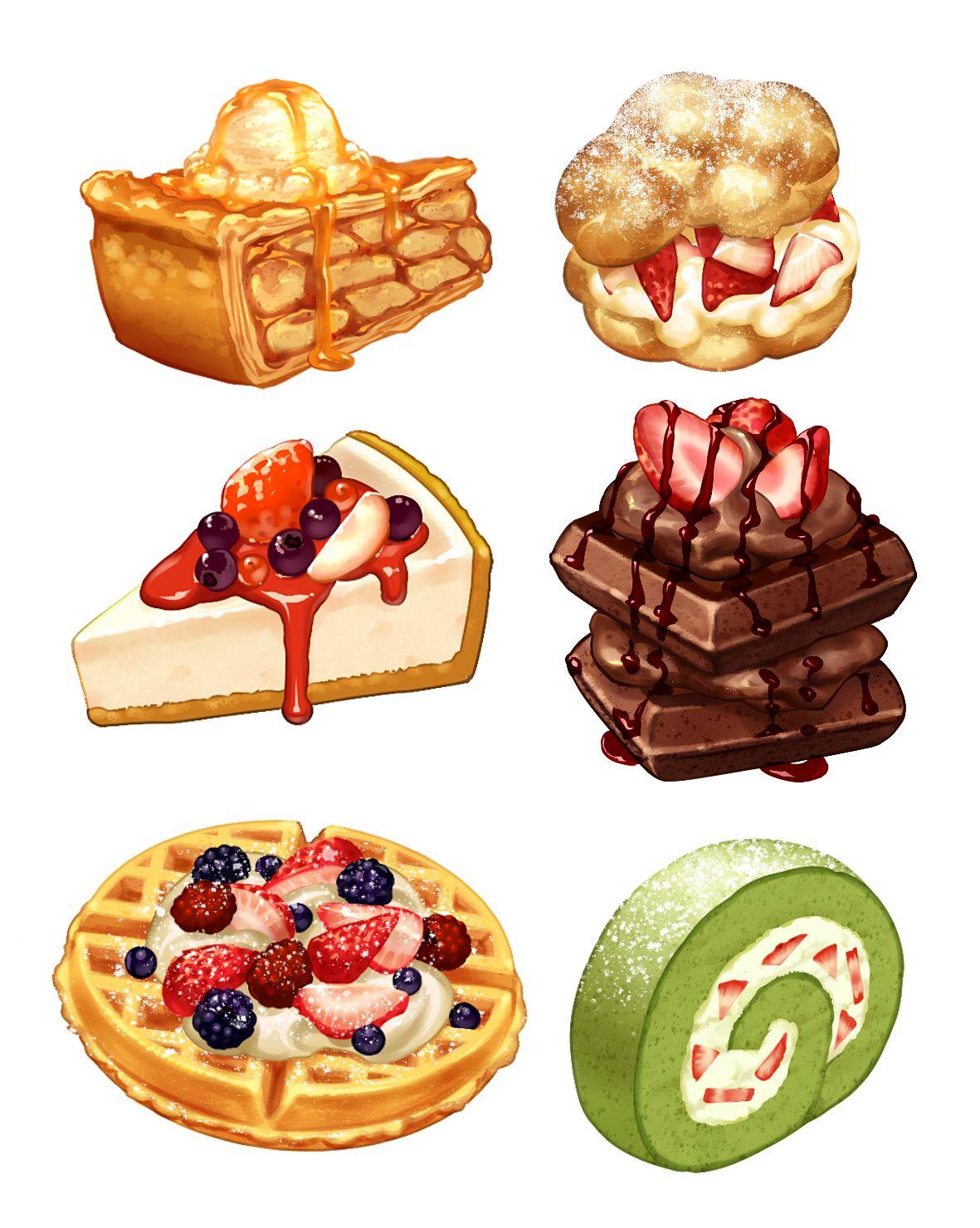 맛있는 음식 일러스트 Google Search 음식 일러스트 수채화 음식 음식 스케치